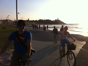Jaffa - Tel Aviv bike ride